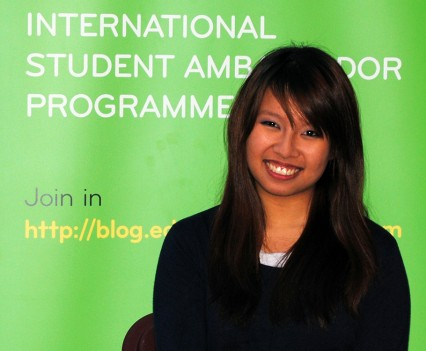 TCD Ambassador Audrey Chew