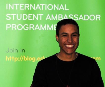 IT Tralee Ambassador Eder Bruno Braga