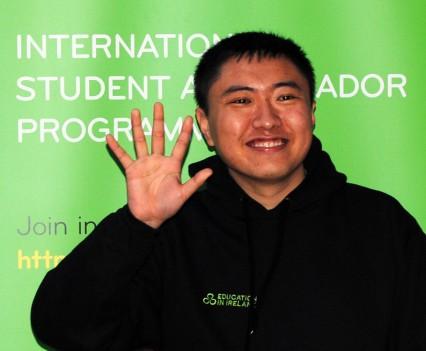 NCI Ambassador Ge Li