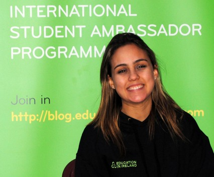 UCC Ambassador Marcela Farias
