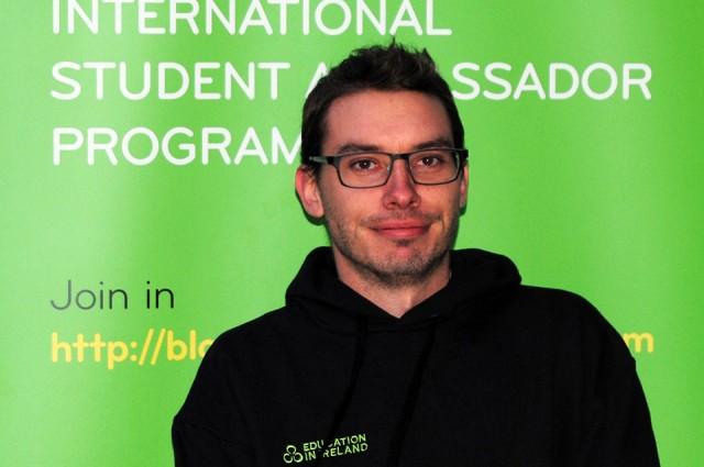UCD Ambassador Marcus Gatto