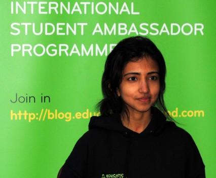 TCD Ambassador Swetha