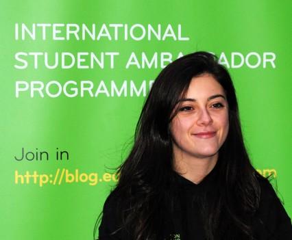 NUIM ambassador Kelli Brenton