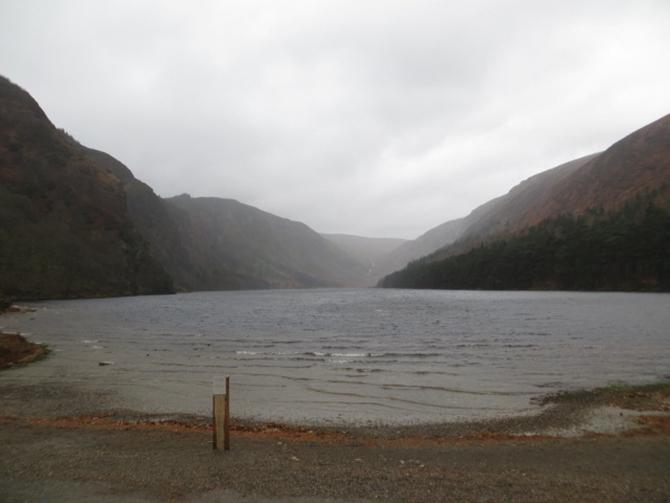 The upper lake, Glendalough, Co Wicklow