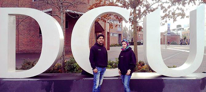 Naheed Zaman, our Dublin City University ambassador