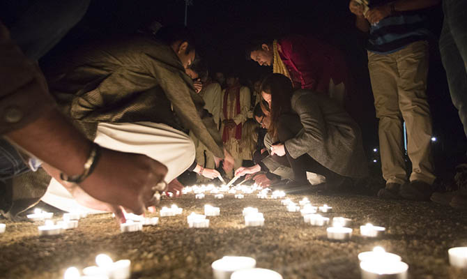 03.11.13            UL Diwali Festival of Light. Picture: Alan Place