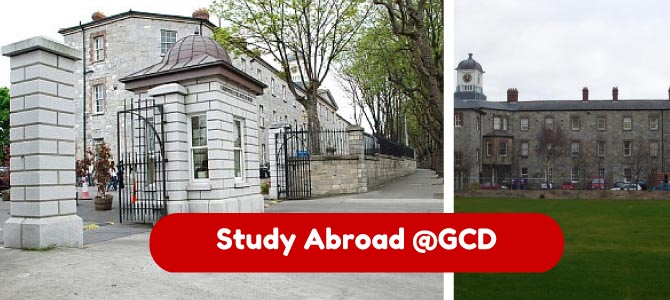 study abroad at GCD