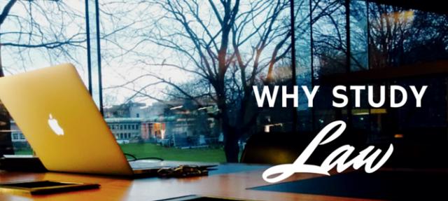 Why study law?