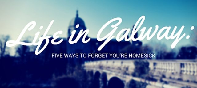 Five ways to forget you're homesick