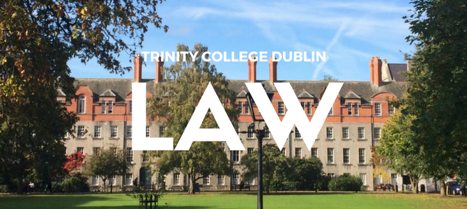 Studying Law at Trinity College Dublin