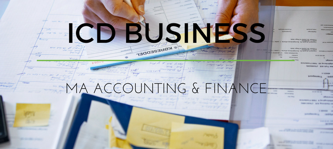 MA in Accounting & Finance at ICD Business School