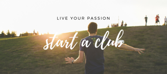 Ultimate Frisbee: live your passion, start a club