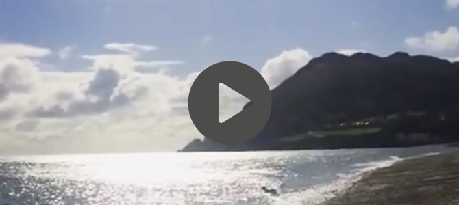 Video: a day trip to Bray Head