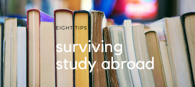 Eight tips for surviving overseas