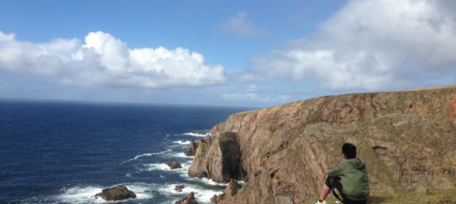 Student travel: exploring Donegal