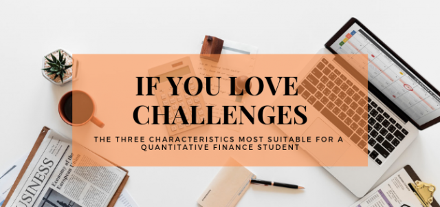 Pursuing an MSc in Quantitative Finance