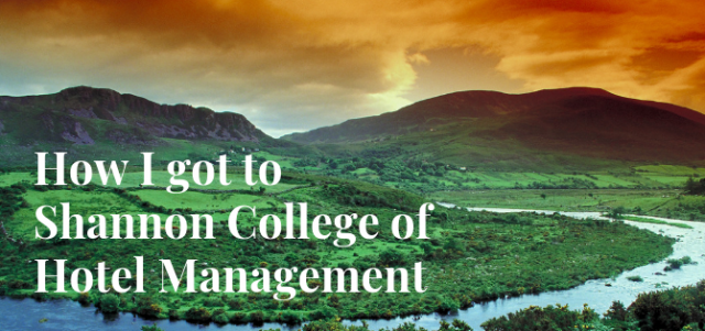 A Bachelor of Business Studies at Shannon College of Hotel Management