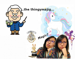 Cartoon about thingymajig