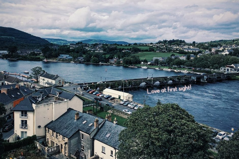 Love at first sight:  a Mexican student's view of Ireland